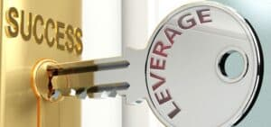 Ilustrasi leverage