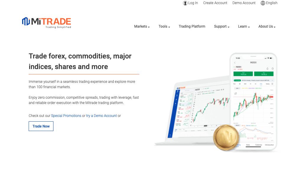 Mitrade-Platform Trading Terbaik